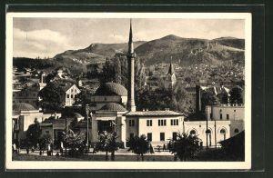 AK Sarajewo, Careva dzamija, An der Kaier Moschee