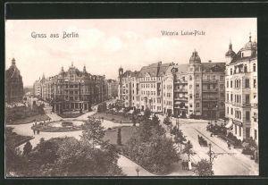 AK Berlin-Schöneberg, Viktoria Luise-Platz mit Anlagen