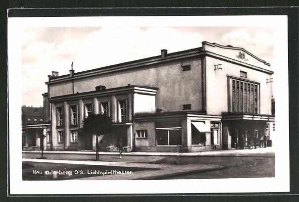 AK Neu Oderberg, Lichtspieltheater, Kino