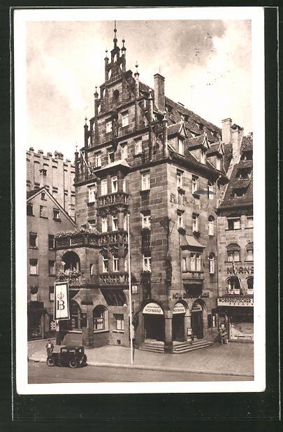 AK Nürnberg, Restaurant Münchner Hofbräu-Ausschank von Josef Kistler