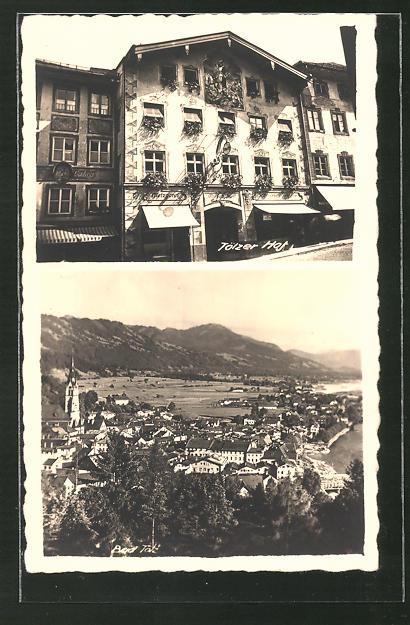 AK Bad Tölz, Hotel Tölzer Hof, Totalansicht aus der Vogelschau