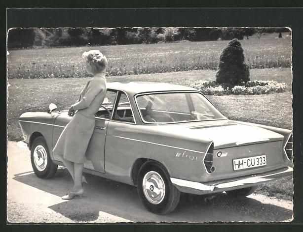 AK BMW 700 Coupé, Autoreklame