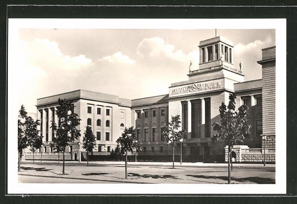 AK Berlin, Botschaft der Sowjet-Union, Unter den Linden 63-65