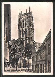 Foto-AK Deutscher Kunstverlag Nr.13: Münster i. W., Liebfrauen-Überwasserkirche, Deutscher Kunstverlag, Berlin