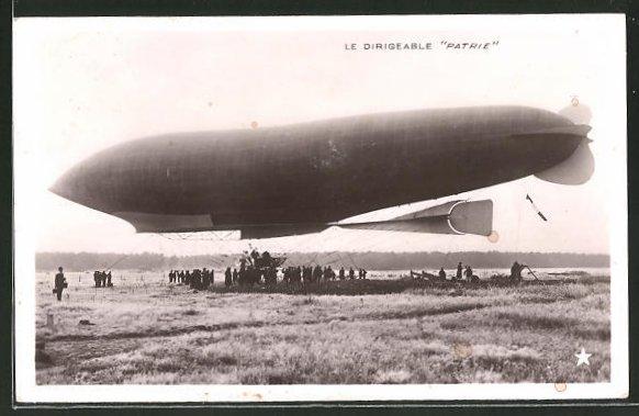 AK Zeppelin / Dirigeable