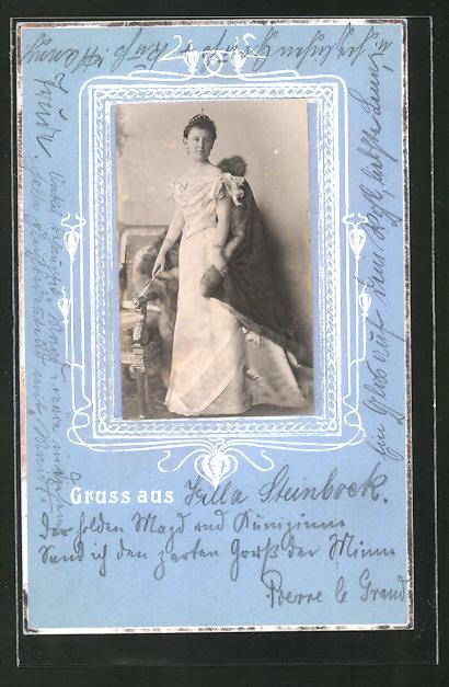 AK Königin Wilhelmine von den Niederlanden