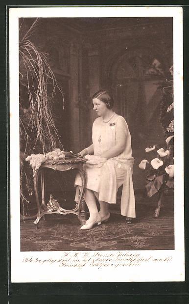 AK Prinzessin Juliana von den Niederlanden