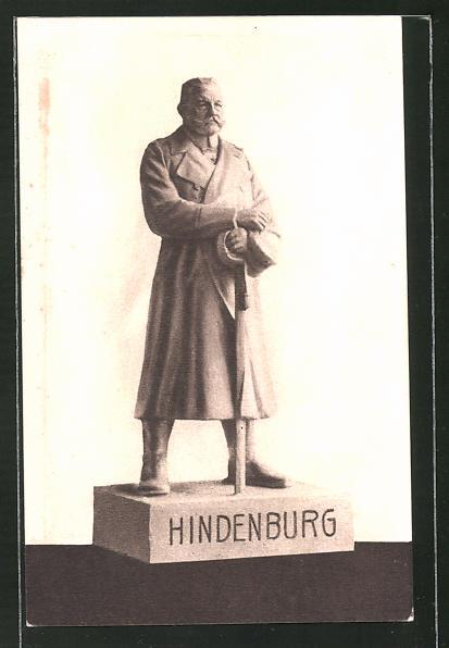 AK Der Eiserne Hindenburg von Berlin, Kriegshilfe
