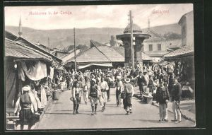 AK Sarajewo, Marktszene in der Carsija