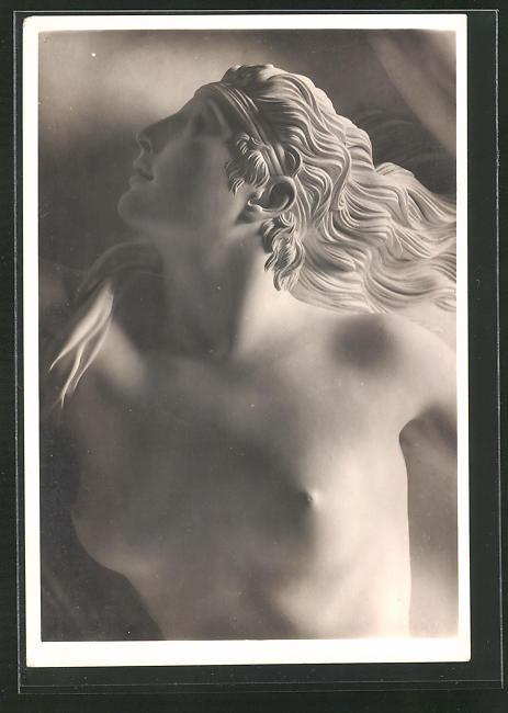 Künstler-AK Arno Breker: Kopf der Daphne