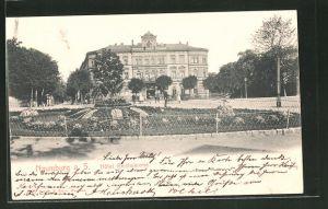 AK Naumburg /Saale, Hotel Reichskrone