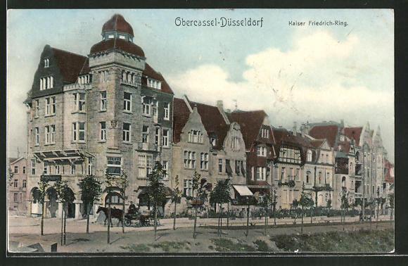 Kaiser Friedrich Ring Düsseldorf ak düsseldorf obercassel partie im kaiser friedrich ring nr