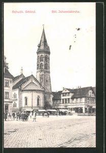AK Schwäb. Gmünd, Skt. Johanniskirche