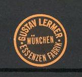 Reklamemarke München, Essenzen-Fabrik Gustav Lermer