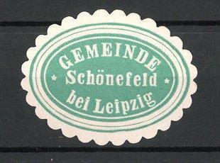 Reklamemarke Schönefeld, Marke der Gemeinde