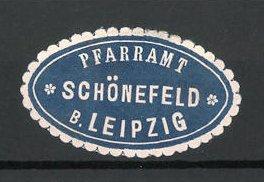 Reklamemarke Schönefeld, Marke vom Pfarramt