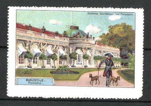Reklamemarke Potsdam, Schloss Sanssouci 0