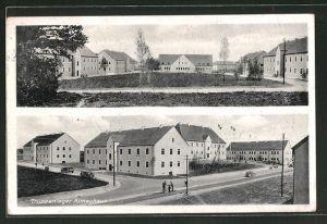 AK Grafenwöhr, Blick auf das Truppenlager Altneuhaus