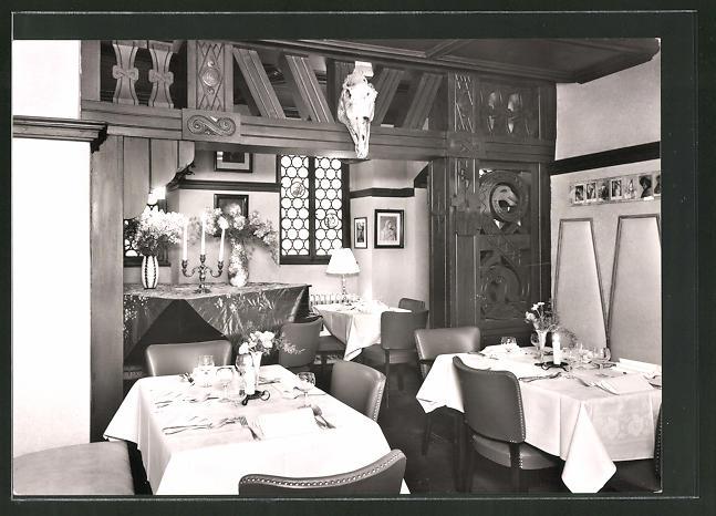 AK Coburg, In der Loreley Gaststätte von O. & A. Schmidt