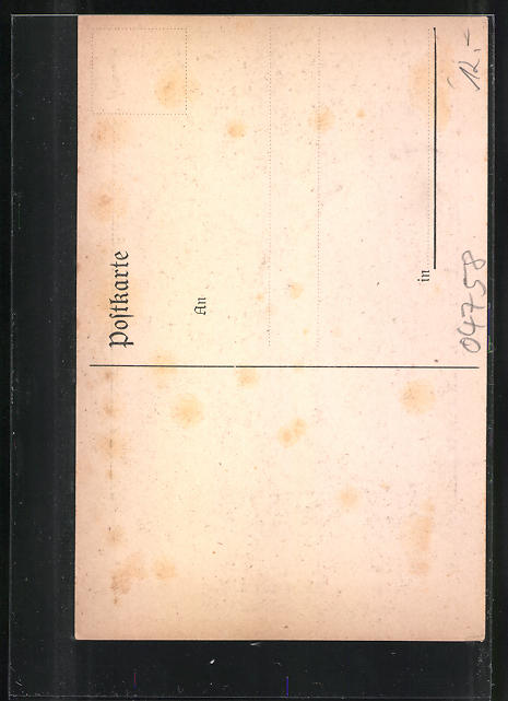 AK Oschatz, Denkmal des ehem. I. Sächs. Ulanen-Regts. Nr. 17 1