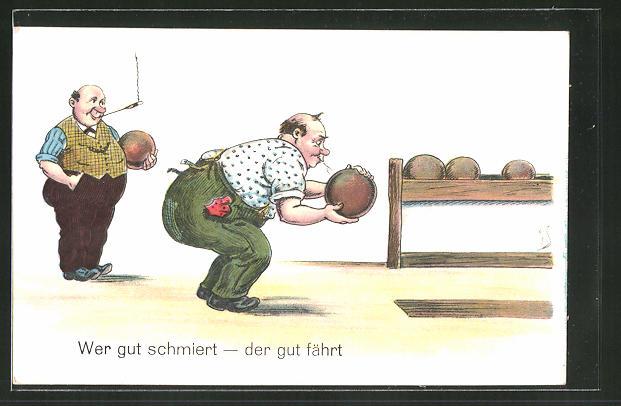 Künstler-AK Willi Scheuermann: