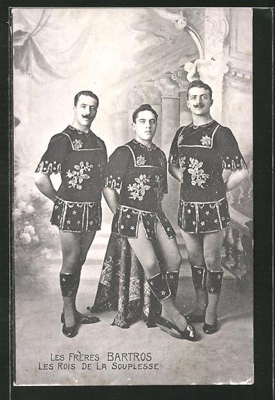 AK Les Frères Bartros, les Rois de la Souplesse, Artisten