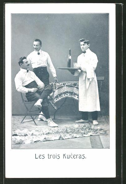 AK Les trois Kuceras, Artisten