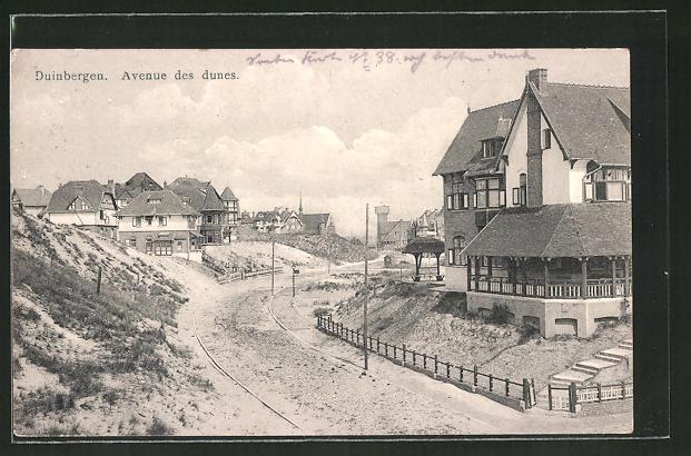 AK Duinbergen, Avenue des dunes