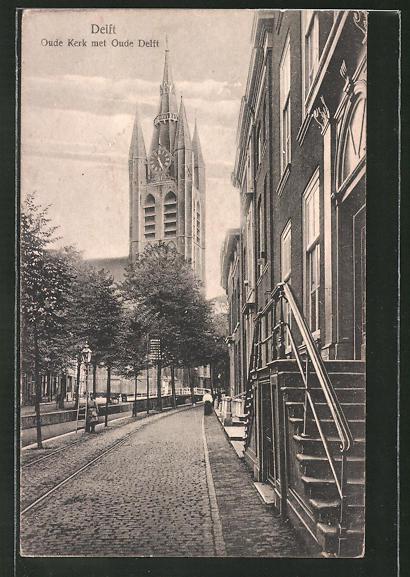 AK Delft, Oude Kerk met Oude Delft