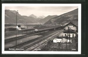 AK Selztal, Totale vom Bahnhof
