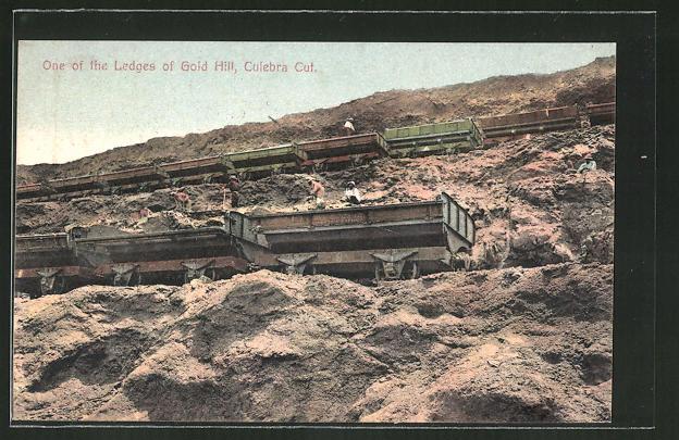AK Culebra Cut, One of the Ledges of Gold Hill, Goldmine