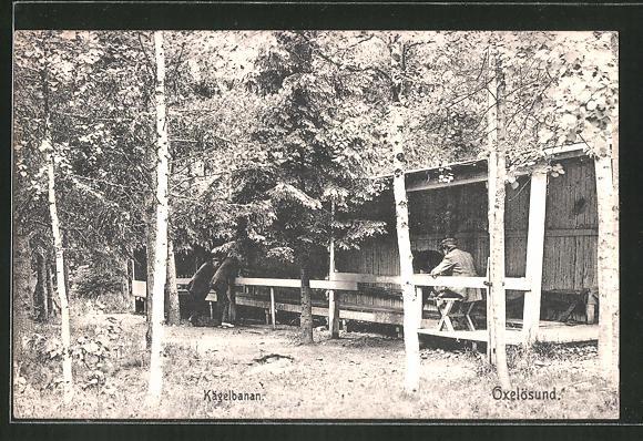 AK Oxelösund, Kägelbanan, Kegelbahn