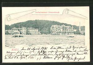 AK Kiel-Düsternbrook, Seebadeanstalt Düsternbrook