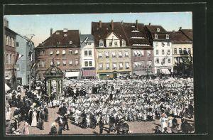 AK Merseburg, Buntes Treiben auf dem Merseburger Kinderfest