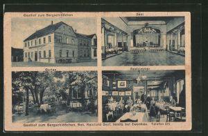 AK Imnitz, Gasthof zum Bergschlösschen von R. Senf