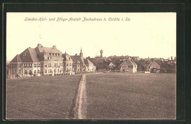 AK Colditz / Sa., Landes-Heil- & Pflege-Anstalt Zschadrass 0