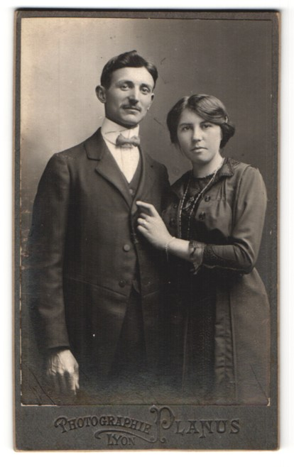 Fotografie Planus, Lyon, Portrait bürgerliches Paar