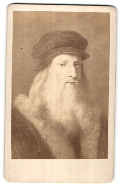 Fotografie Selbstportrait Leonardo da Vinci