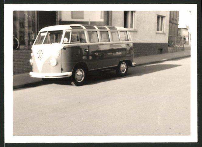 Fotografie Auto VW Bulli T1, Volkswagen Kleinbus