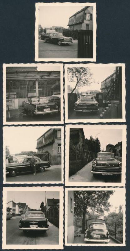 7 fotografien auto opel kapit n limousine als taxi in frankfurt main nr 8014864 oldthing. Black Bedroom Furniture Sets. Home Design Ideas