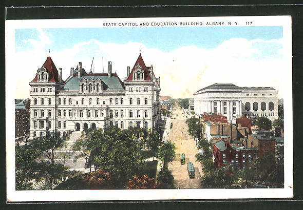 AK Albany, NY, State Capitol and Education Building