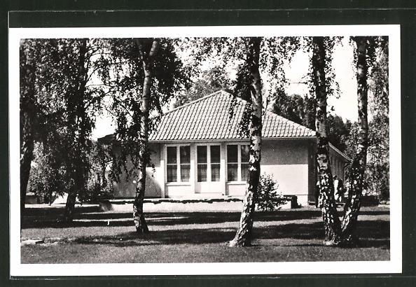 AK Döberitz, Olympisches Dorf, Wohnhaus an der oberen Dorfaue