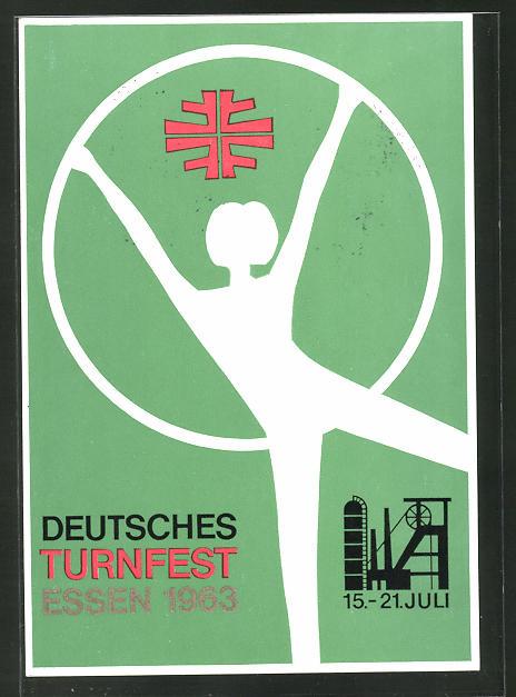 AK Essen, Deutsches Turnfest 1963