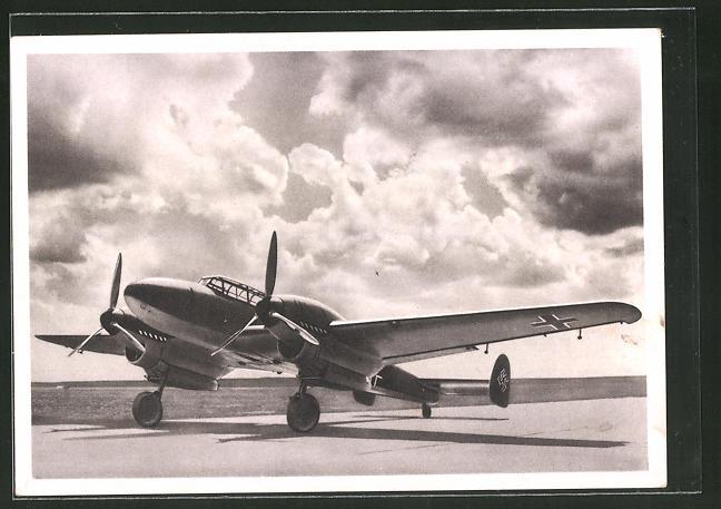 AK Zerstörer Messerschmitt Me 110