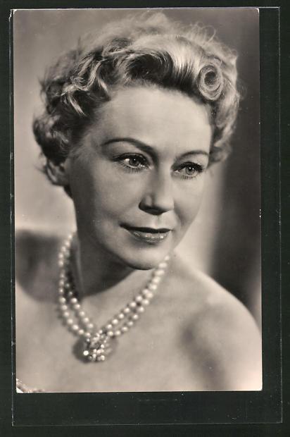 AK Schauspielerin Leny Marenbach spielte u.a. im Film