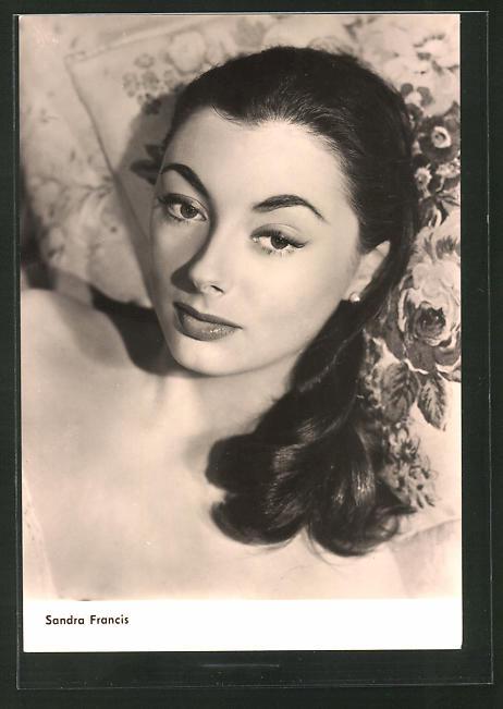 AK Schauspielerin Sandra Francis spielte im Film