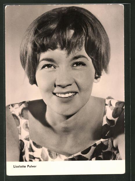 AK Schauspielerin Liselotte Pulver spielte u.a. im Film