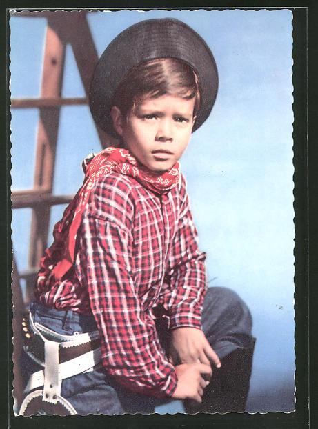 AK Schauspieler Oliver Grimm im Kostüm eines Cowboy 0