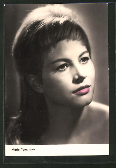 AK Schauspielerin Marie Tomasovà spielte im Film