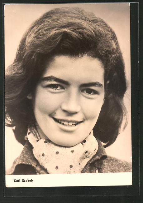 AK Schauspielerin Kati Szekely spielte u.a. im Film